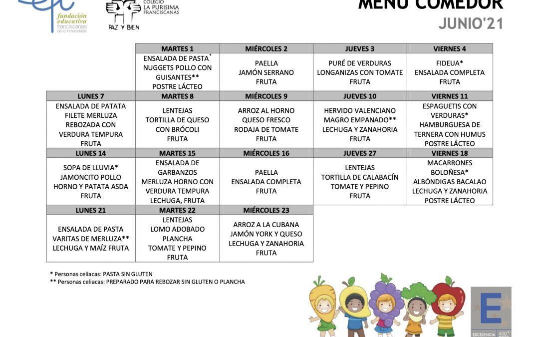 2021 06 menu Comedor