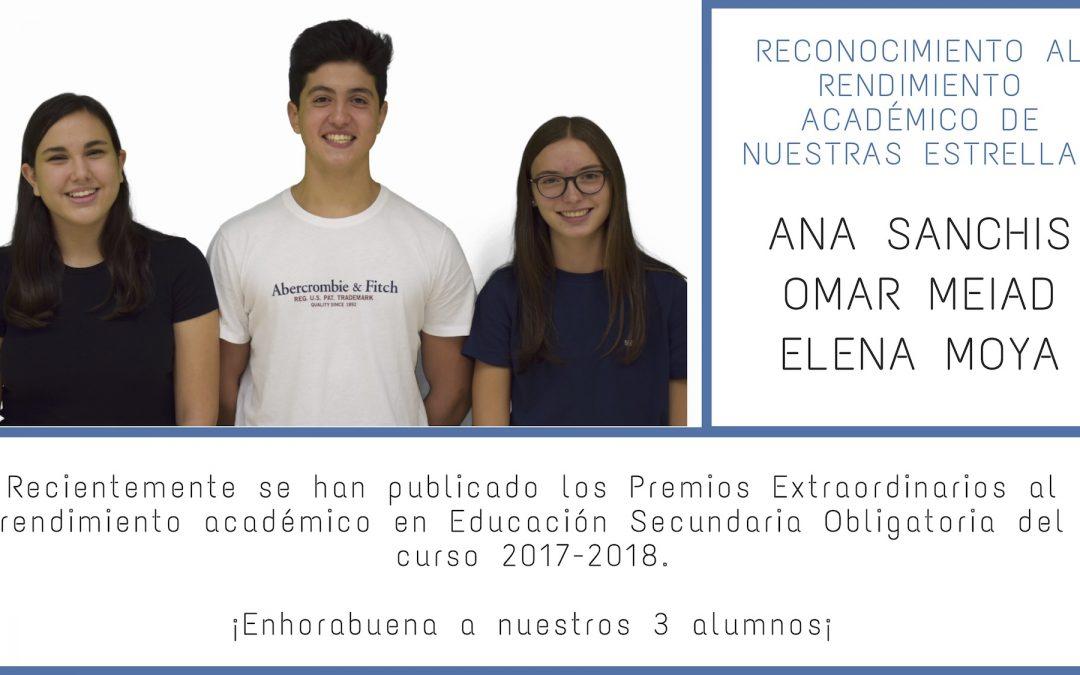 alumnado premios rendimiento academico