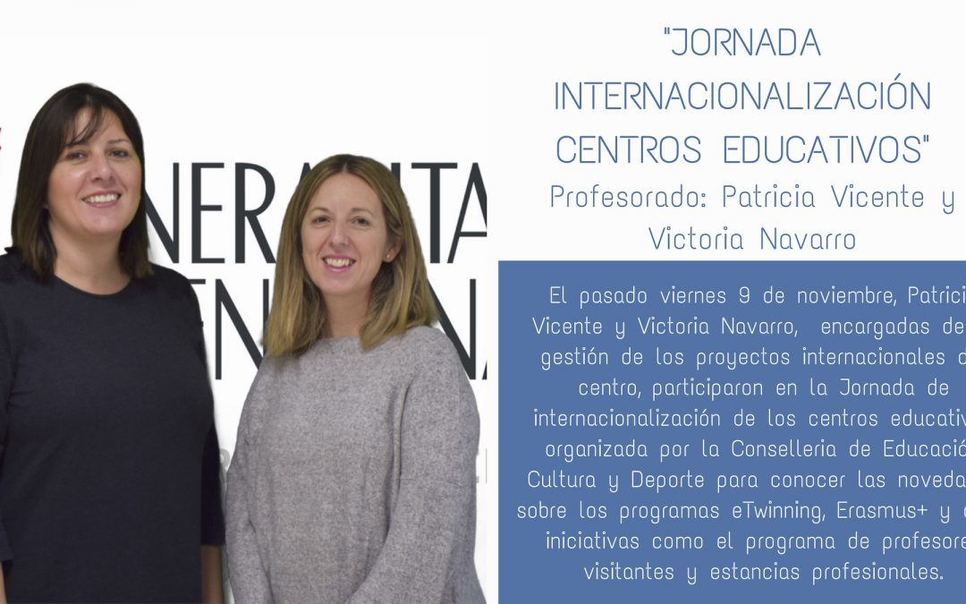 profesorado jornada internacionalizacion centros educativos