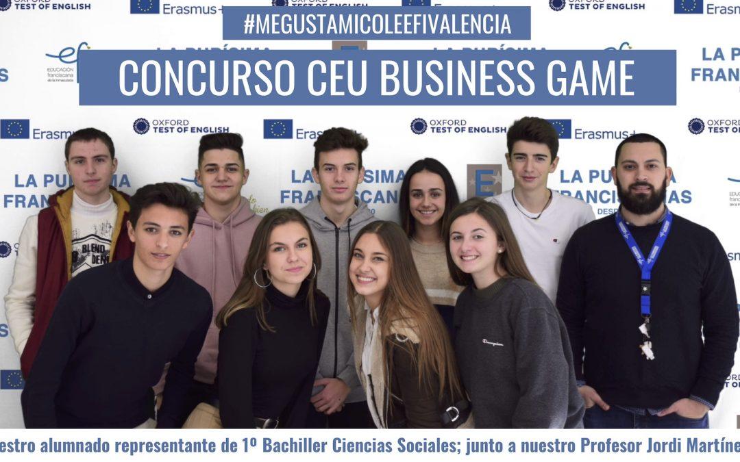 concurso ceu business game 2019