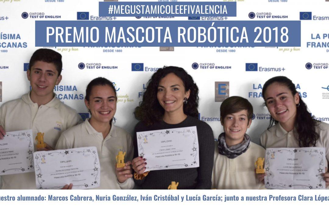 premio concurso mascotas robotica