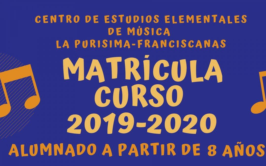 1907 escuela musica matricula ceem