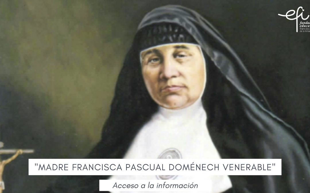 201005 madre francisca venerable
